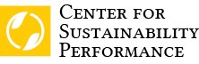 Center for Sustainability Performance