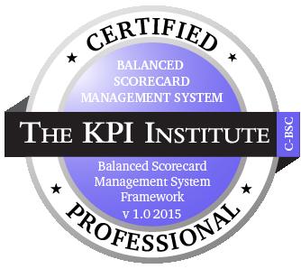 Certified Balanced Scorecard Management System Professional