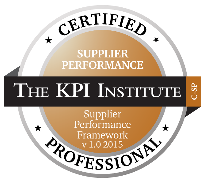 Certified Supplier Performance Professional